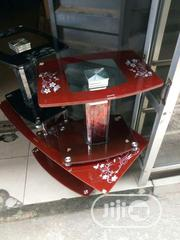 Good Quality Glass Center Table With Two Side Stool | Furniture for sale in Lagos State, Ojo