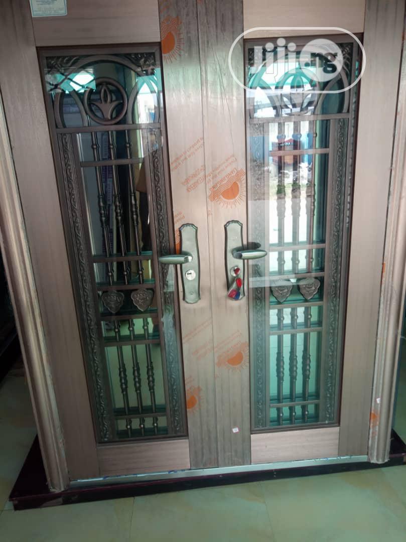 6ft Turkish Armored Glass Door