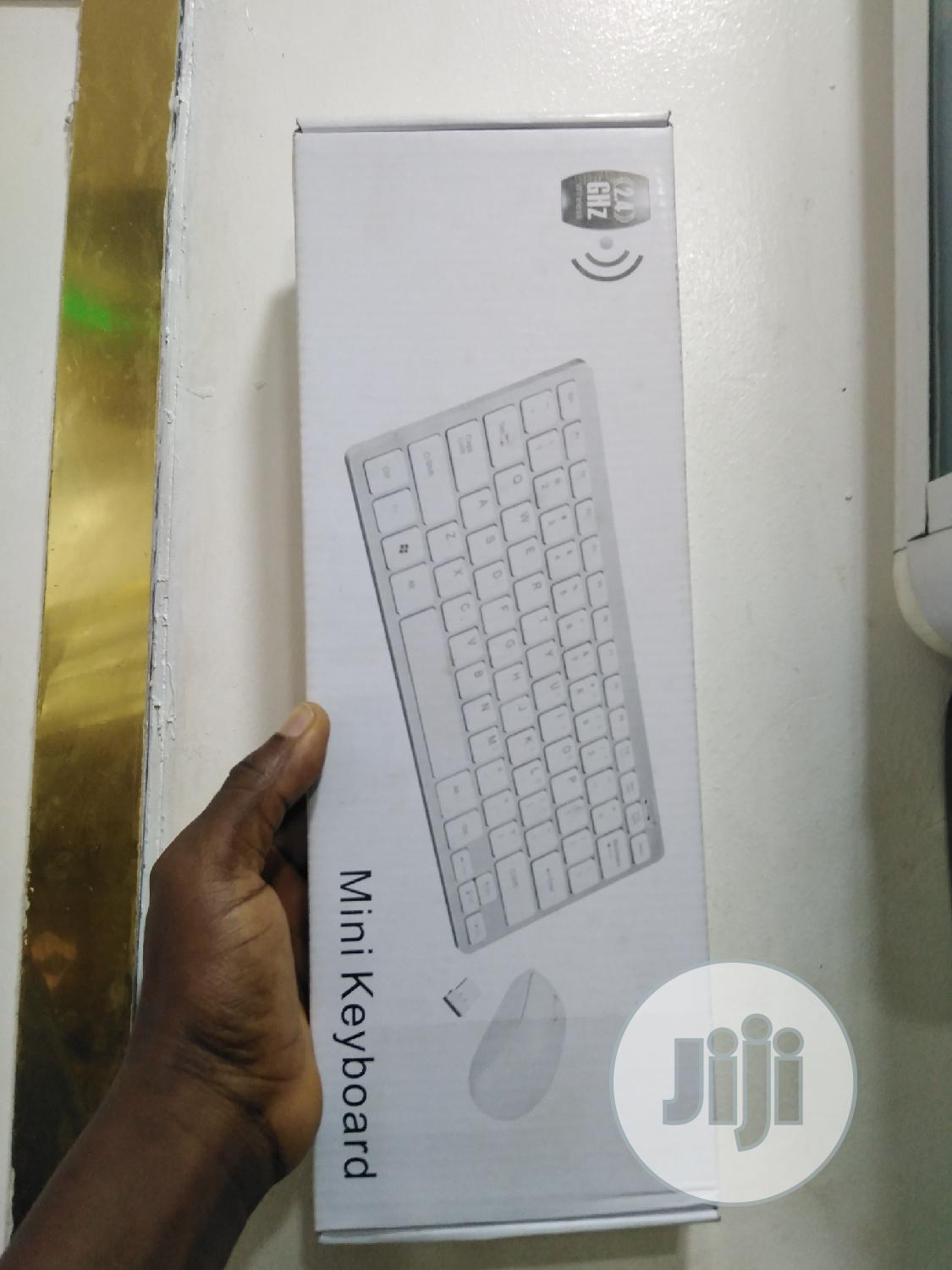 Wireless Keyboard And Mouse | Computer Accessories  for sale in Ikeja, Lagos State, Nigeria