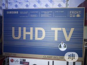 Samsung Tv 55 Inches Smart Led Made in Korea UHD With 2 Yrs Warranty | TV & DVD Equipment for sale in Lagos State, Ojo