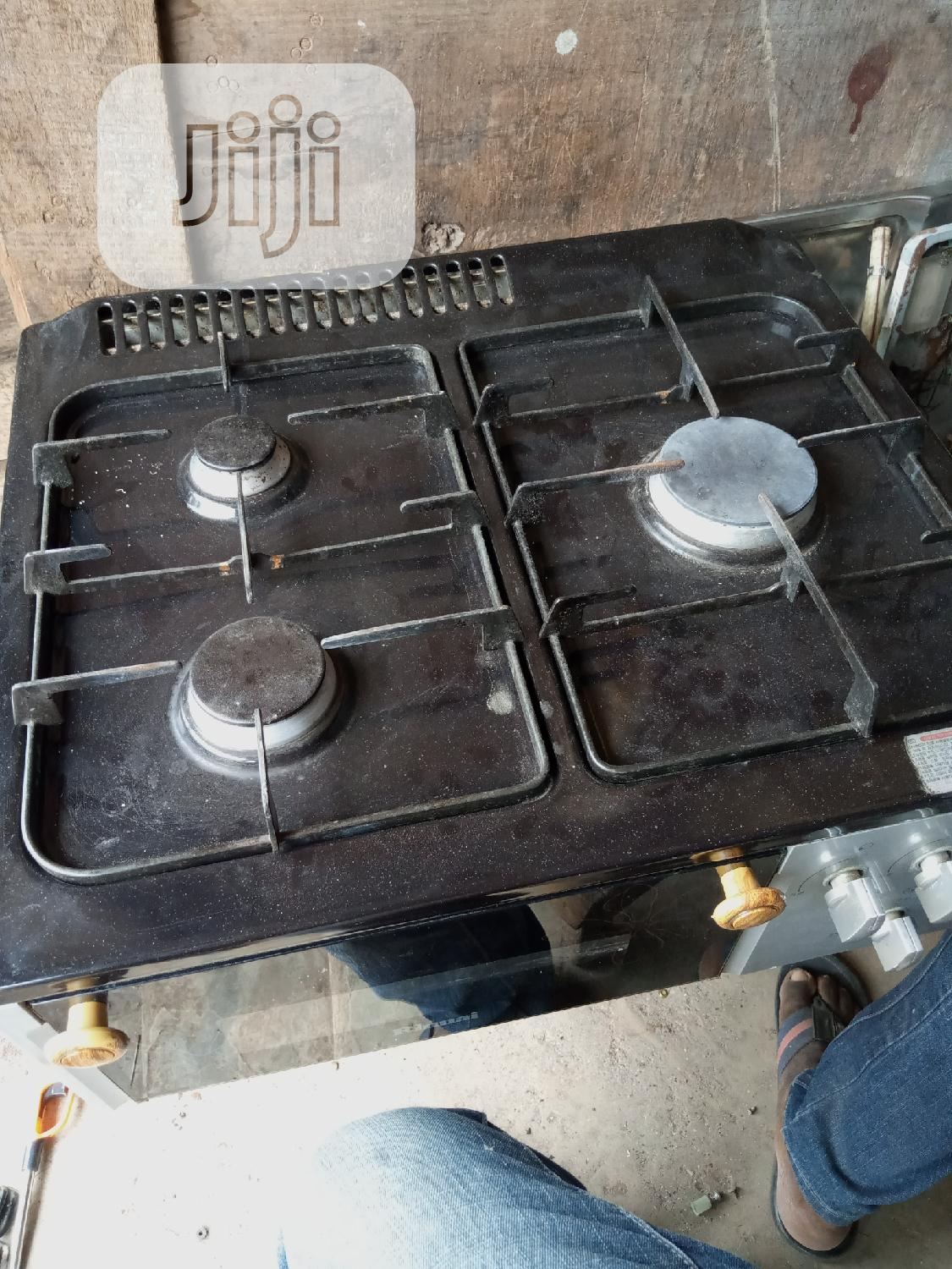 Archive: Clean UK Used 3 Bunner Gas Cooker With Oven