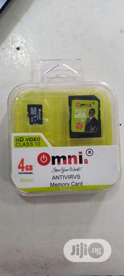 Omni Antivirus Memory Card (4gb) | Accessories for Mobile Phones & Tablets for sale in Lagos State, Ojodu