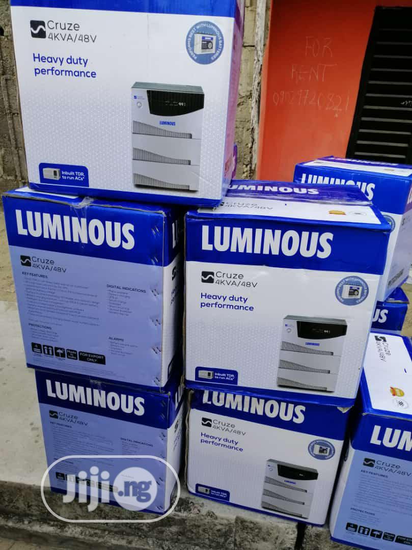 Archive: 4kva 48v Luminous Inverter India