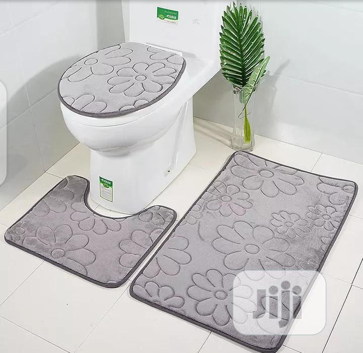 3 Set Toilet Mat | Home Accessories for sale in Lagos Island, Lagos State, Nigeria