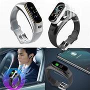H109 Talkband Smart Bracelet Wireless Bluetooth Call Headset | Headphones for sale in Lagos State, Ikeja