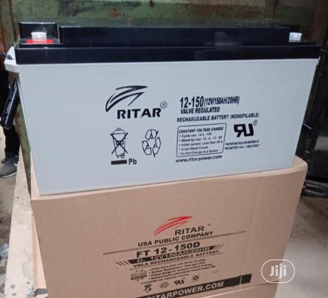 Ritar 150ah 12v Battery
