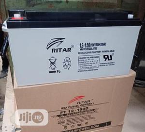 Ritar 150ah 12v Battery   Solar Energy for sale in Lagos State, Ojo