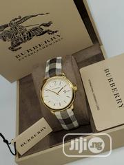 Original Female Burberry Watch With International Warranty | Watches for sale in Lagos State, Surulere