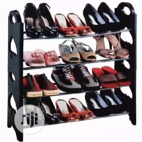 Stakable Shoe Rack( 12 Pair)