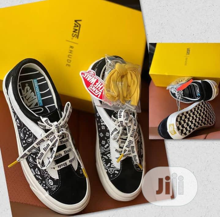 Van's Rhude Designer Sneakers | Shoes for sale in Magodo, Lagos State, Nigeria