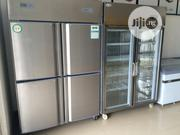 Stainless 4 Door Industrial Standing Freezer | Restaurant & Catering Equipment for sale in Lagos State, Ojo
