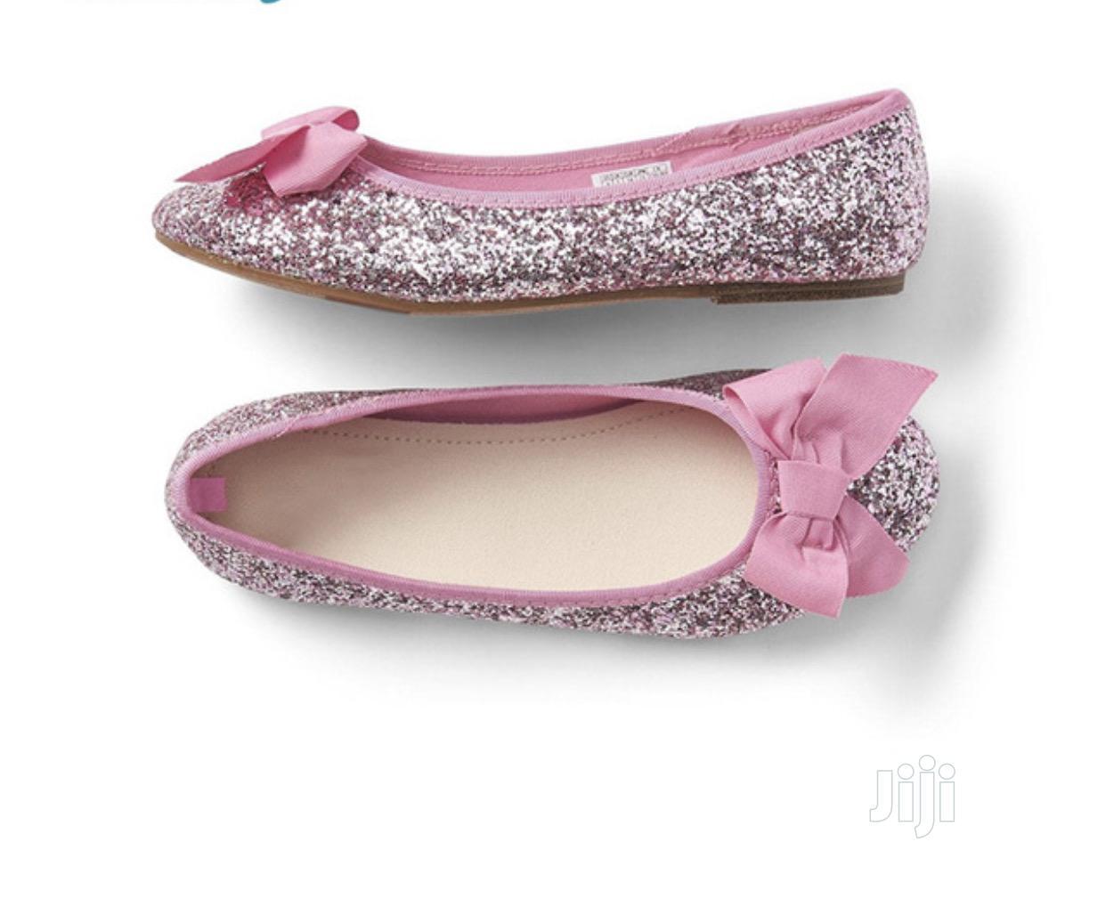 Archive: Princess Pink Shimmering Ballet Shoe