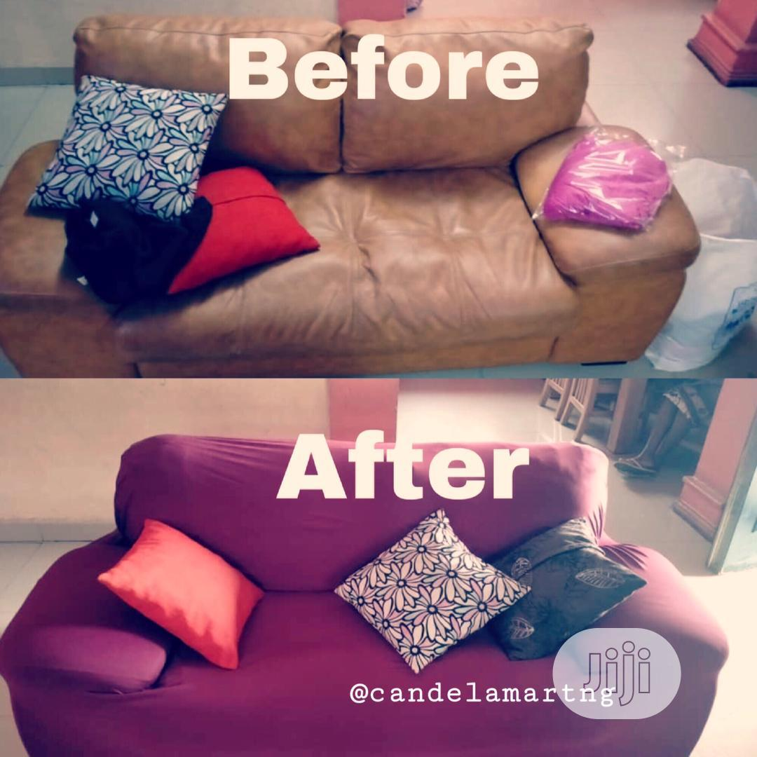 Home Sofa Elastic Cover | Home Accessories for sale in Yaba, Lagos State, Nigeria