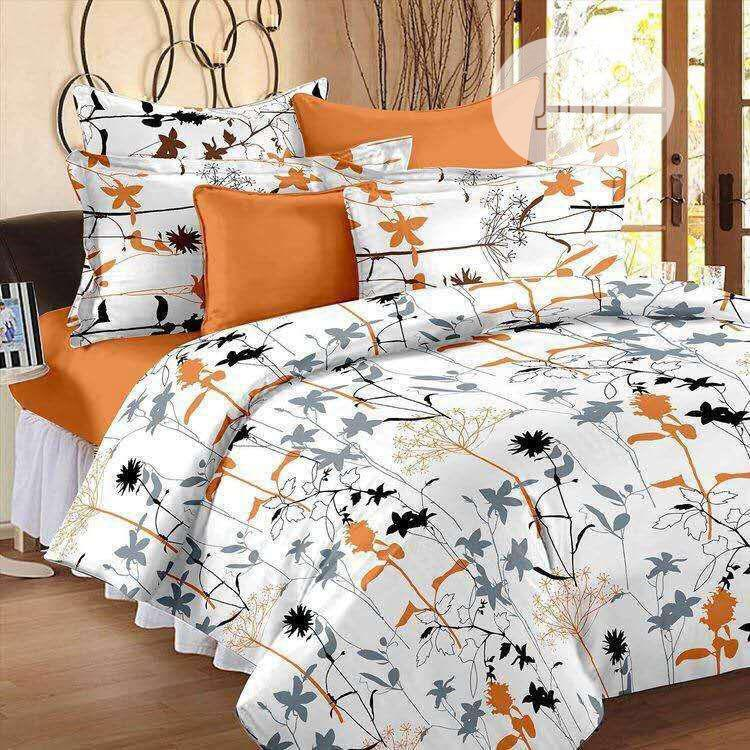 Adorable Bedsheet With 4pillowcases (6by6)