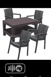 Quality Cane Plastic Chair With 4 Seaters   Furniture for sale in Lagos State, Ajah
