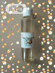 Pure Unmixed Cold Pressed Coconut Oil 200ml | Skin Care for sale in Lagos State, Ojodu