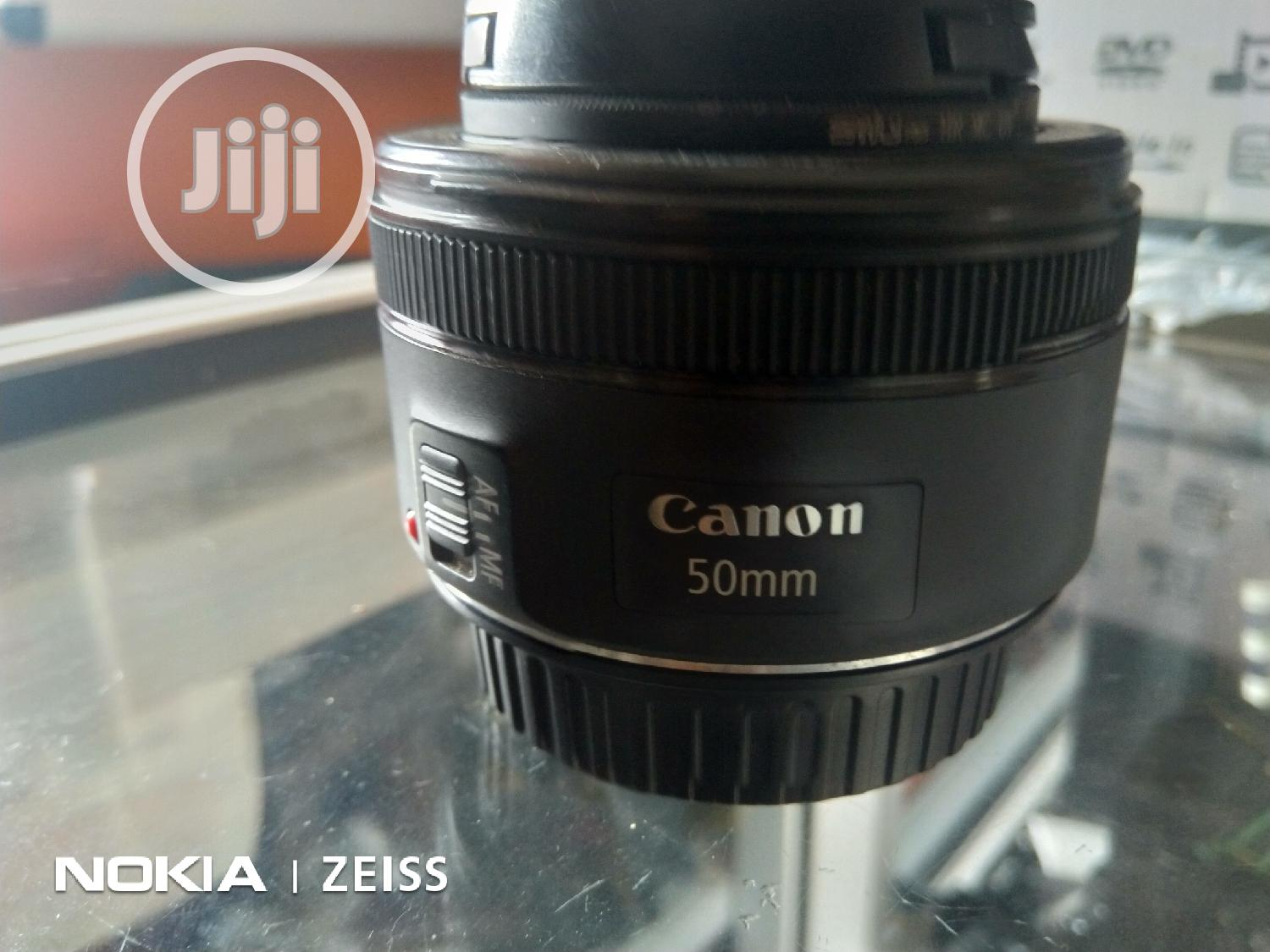 Canon Lens 50mm STM | Accessories & Supplies for Electronics for sale in Ikeja, Lagos State, Nigeria