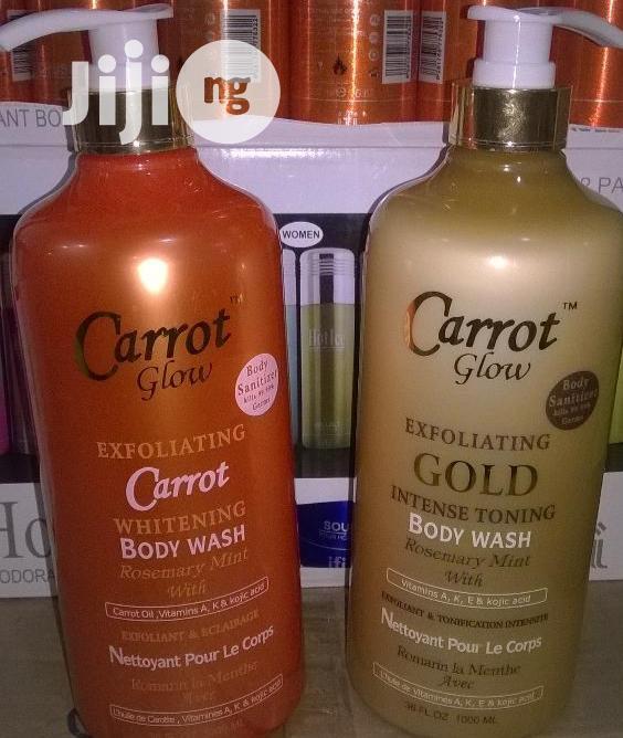 Carrot Glow Shower Gel