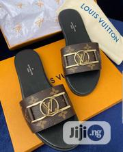 Louis Vuitton Ladies Designer Slippers | Shoes for sale in Lagos State, Magodo