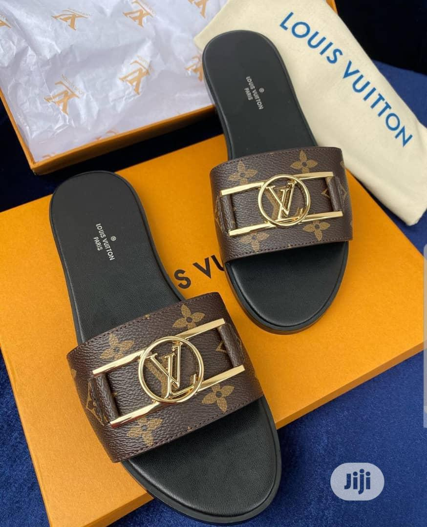 Louis Vuitton Ladies Designer Slippers