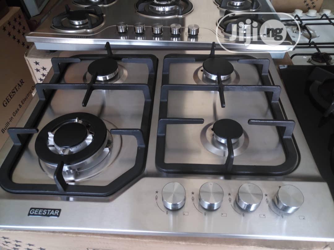 Archive: Geestar Stainless Inbuilt Cooker 60cm