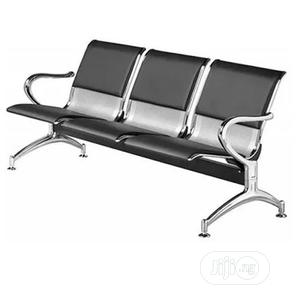 Leather Padded Office/ Airport Waiting Bench | Furniture for sale in Lagos State, Ojo