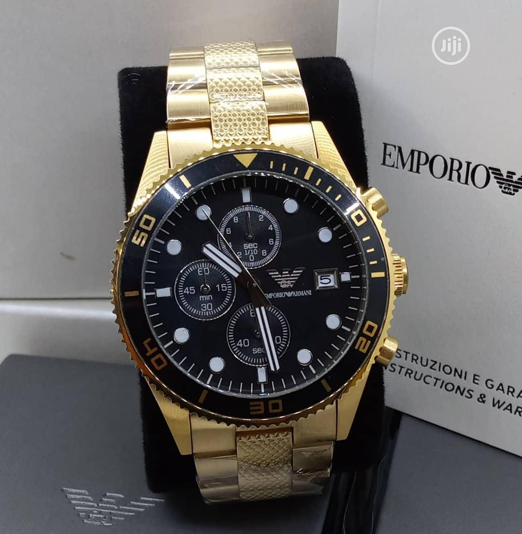 Emperio Armani Designer Wrist Watch