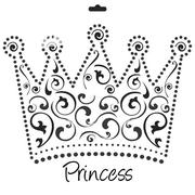 Translucent Princess Stencil | Stationery for sale in Lagos State, Surulere