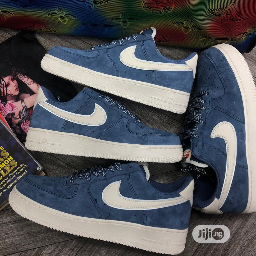 Nike Air Force 1 Lite Blue Coloured