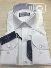 Plain White Men's Shirts   Clothing for sale in Lagos State, Lagos Island