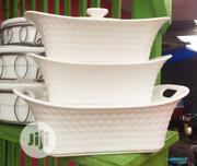 Three Set Of Breakable White Dish | Kitchen & Dining for sale in Lagos State, Lagos Island