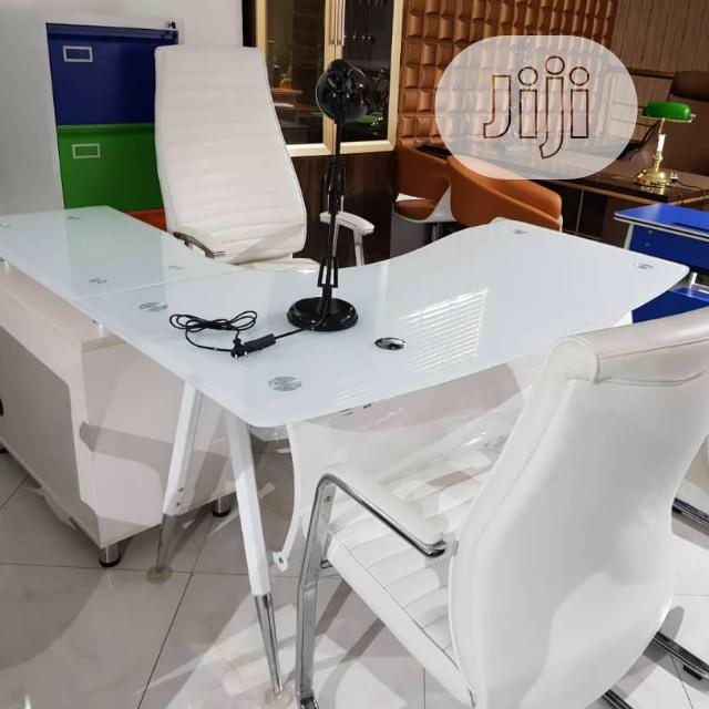 Executive Office Glass Table