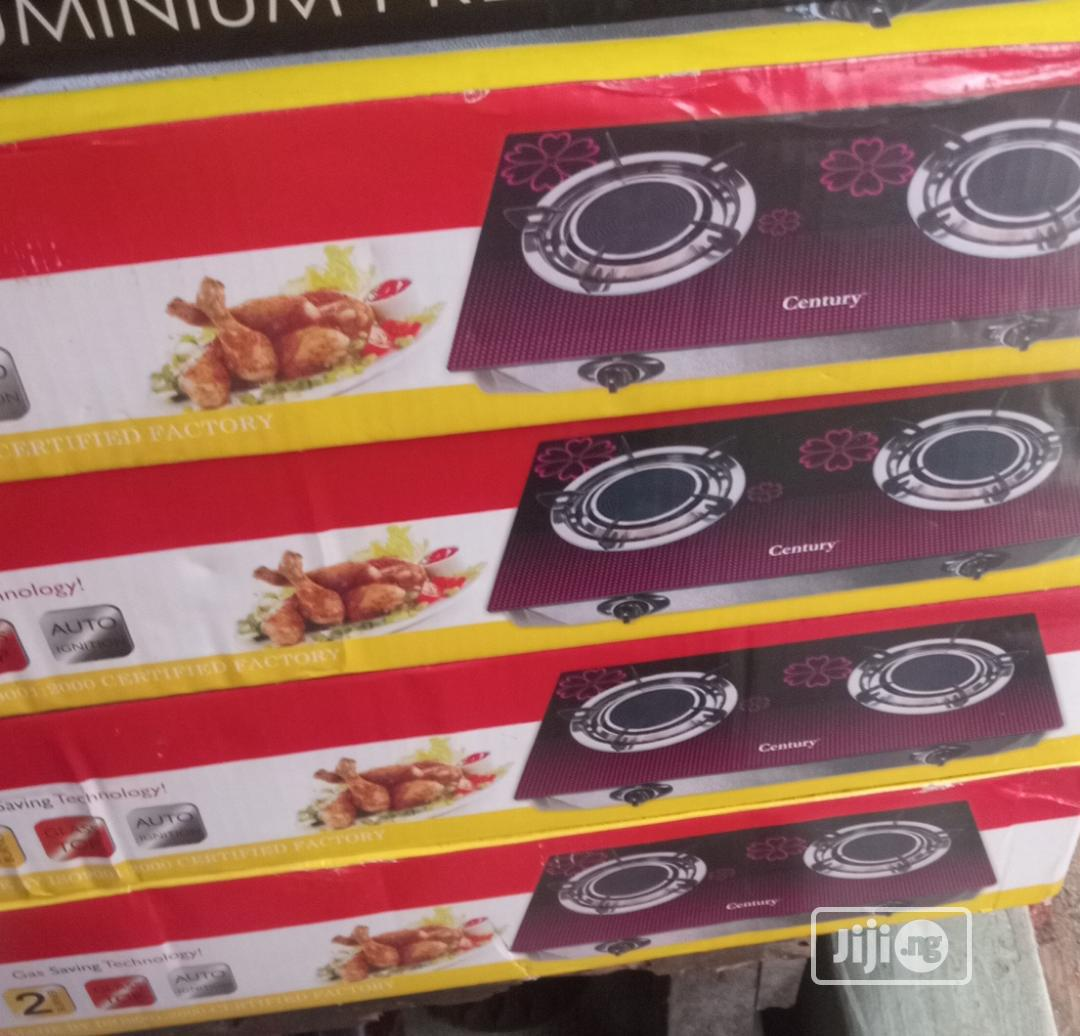 Century Table Glass Gas Cooker