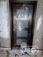 Solid Wood With Glass   Doors for sale in Lagos State, Orile