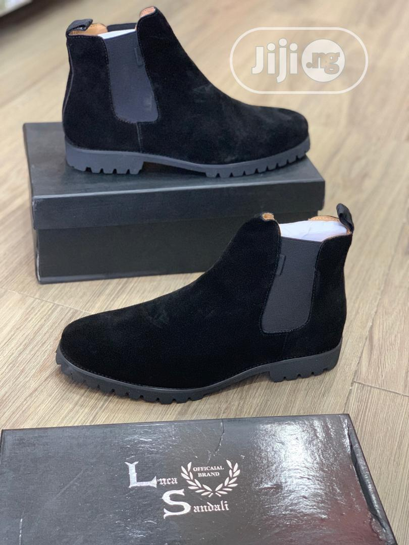 Archive: Luca Sandali Chelsea Boots Available