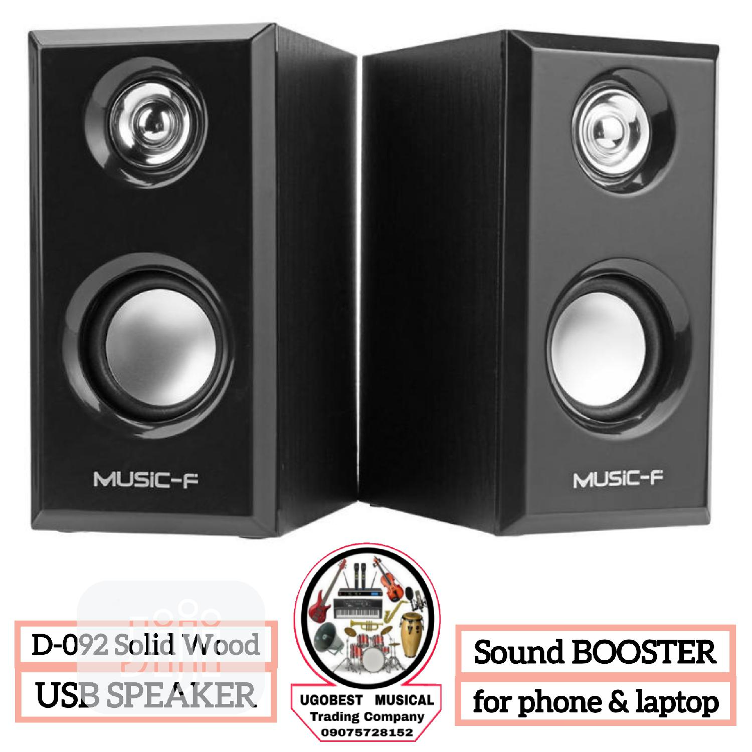 High Quality USB Speaker for PC, LAPTOP, PHONE