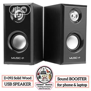 High Quality USB Speaker for PC, LAPTOP, PHONE | Audio & Music Equipment for sale in Lagos State, Mushin