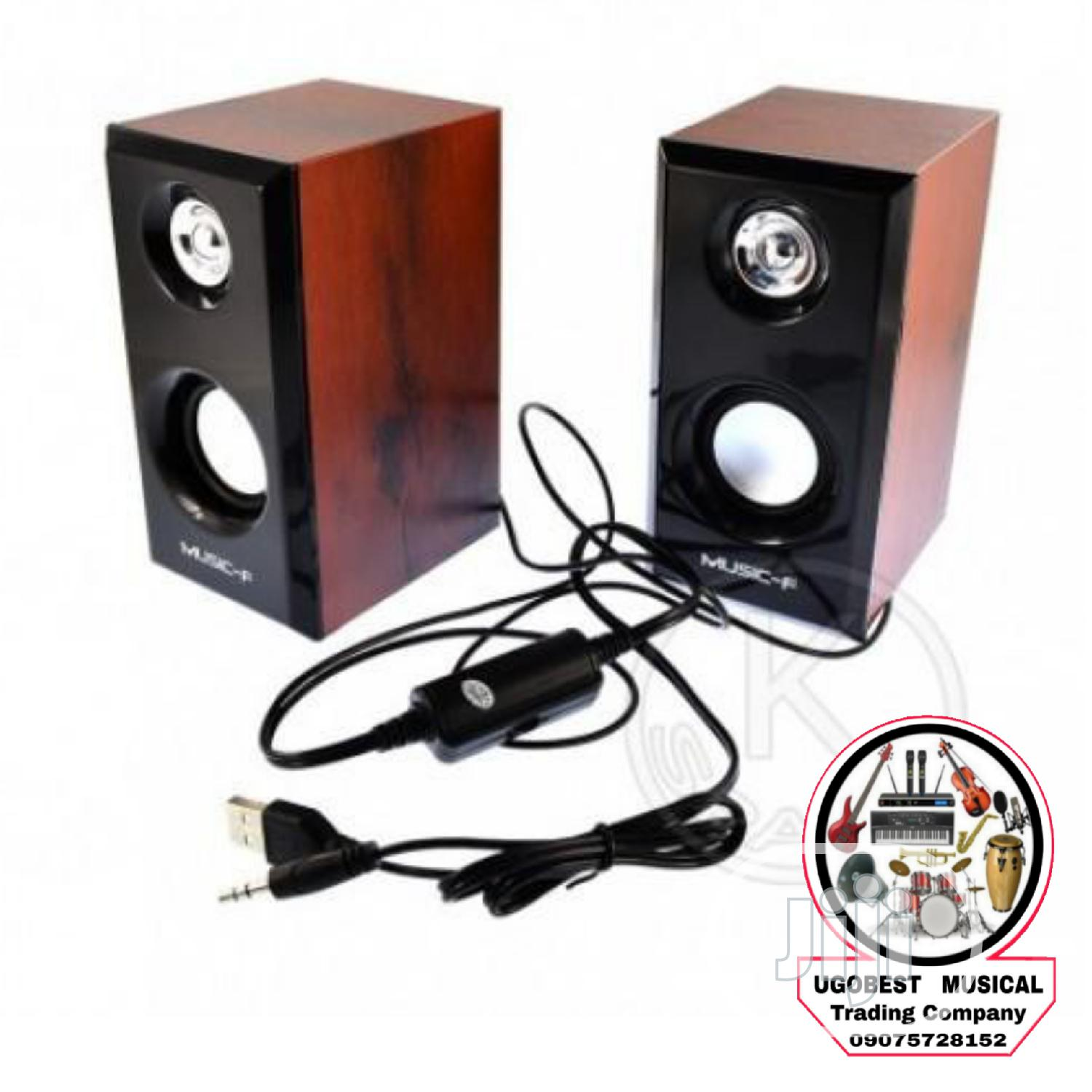 High Quality USB Speaker for PC, LAPTOP, PHONE | Audio & Music Equipment for sale in Mushin, Lagos State, Nigeria