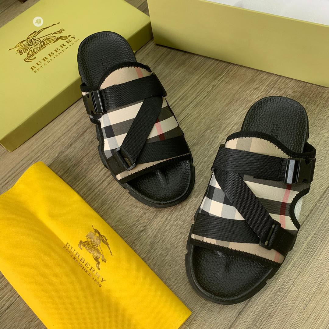 Archive: Original Burberry Slippers Available