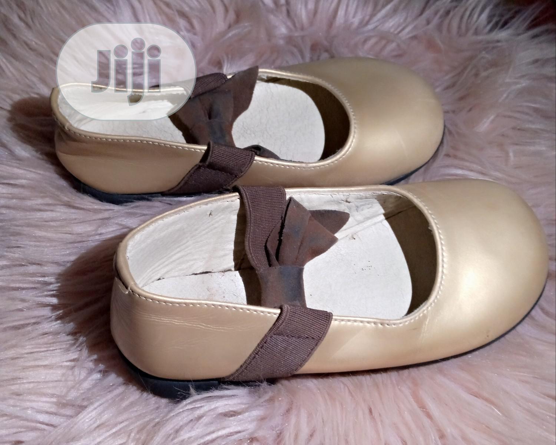 Gold Baby Shoe | Children's Shoes for sale in Ifako-Ijaiye, Lagos State, Nigeria