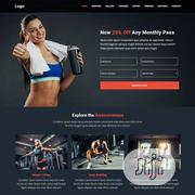 Fitness/Gym Website | Computer & IT Services for sale in Rivers State, Port-Harcourt