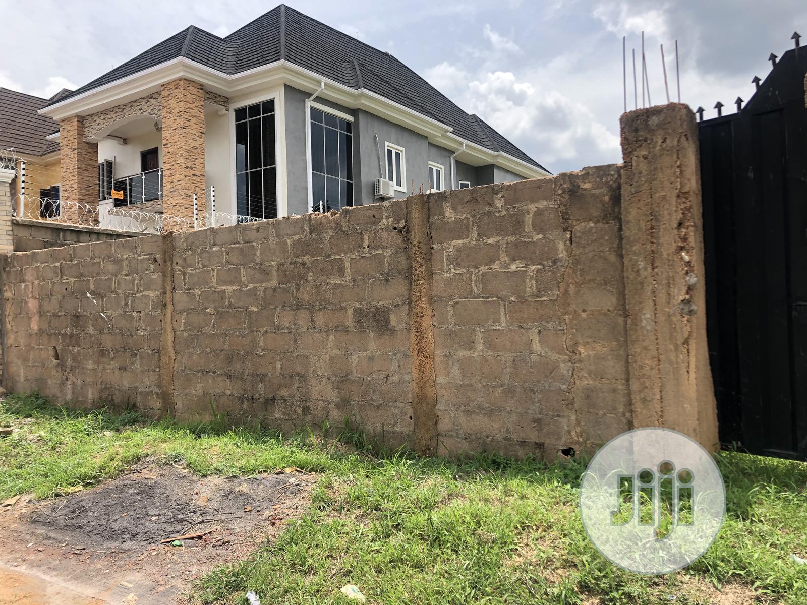 Standard Plot Of Land Fenced & Gated At Golf Estate Close To Major Road