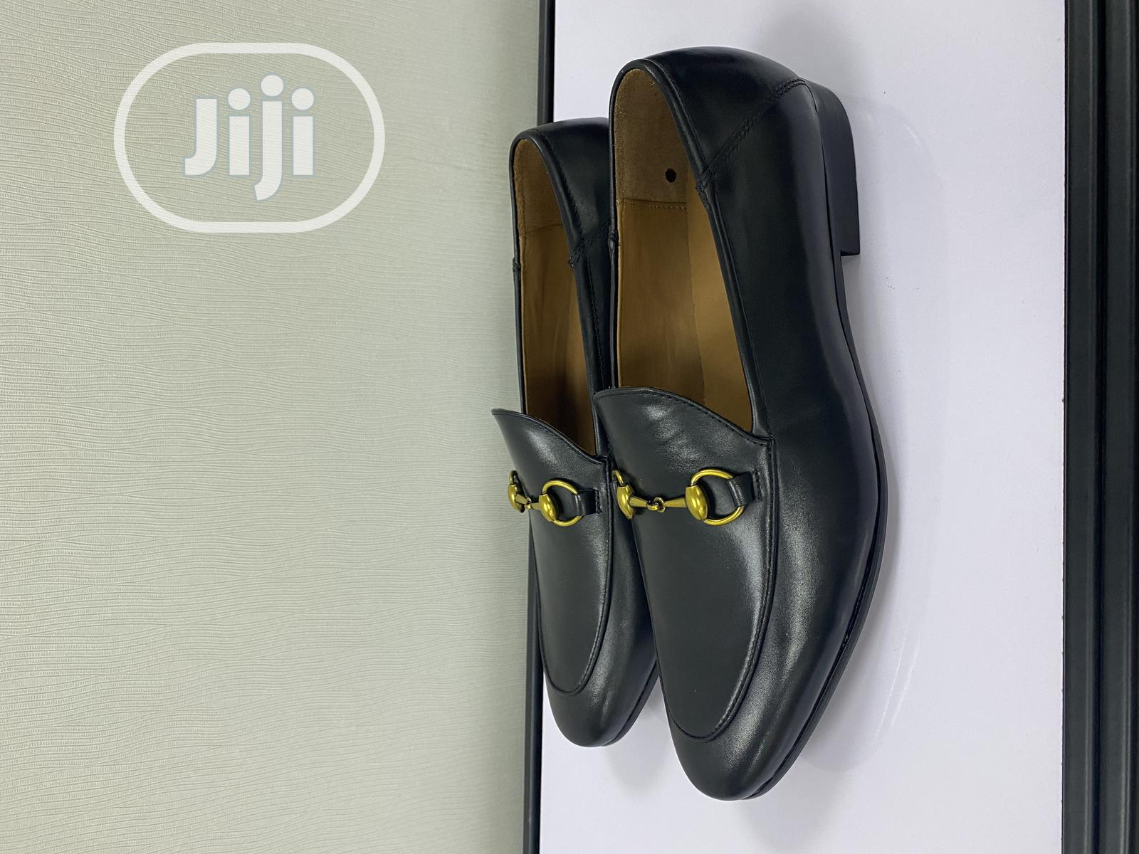 Leather Loafers Shoe