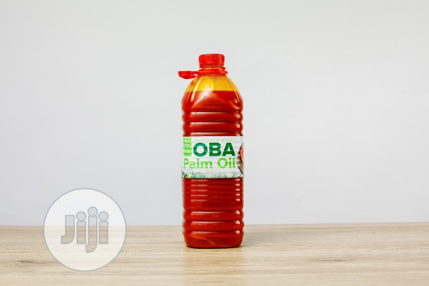 2.5 Litres Of Palm Oil From Oba Farms