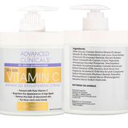 Advanced Clinicals Vitamin C Cream. | Bath & Body for sale in Lagos State, Surulere