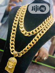 Pure Italian 18karat Chain With Jesus Pics Pendant Is Available | Jewelry for sale in Lagos State, Yaba