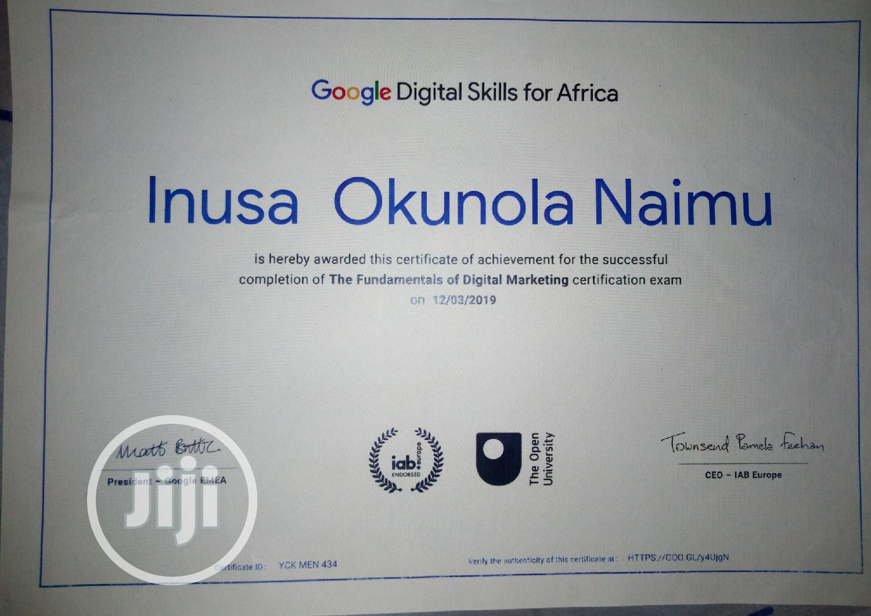 Web Developer | Computing & IT CVs for sale in Tarauni, Kano State, Nigeria