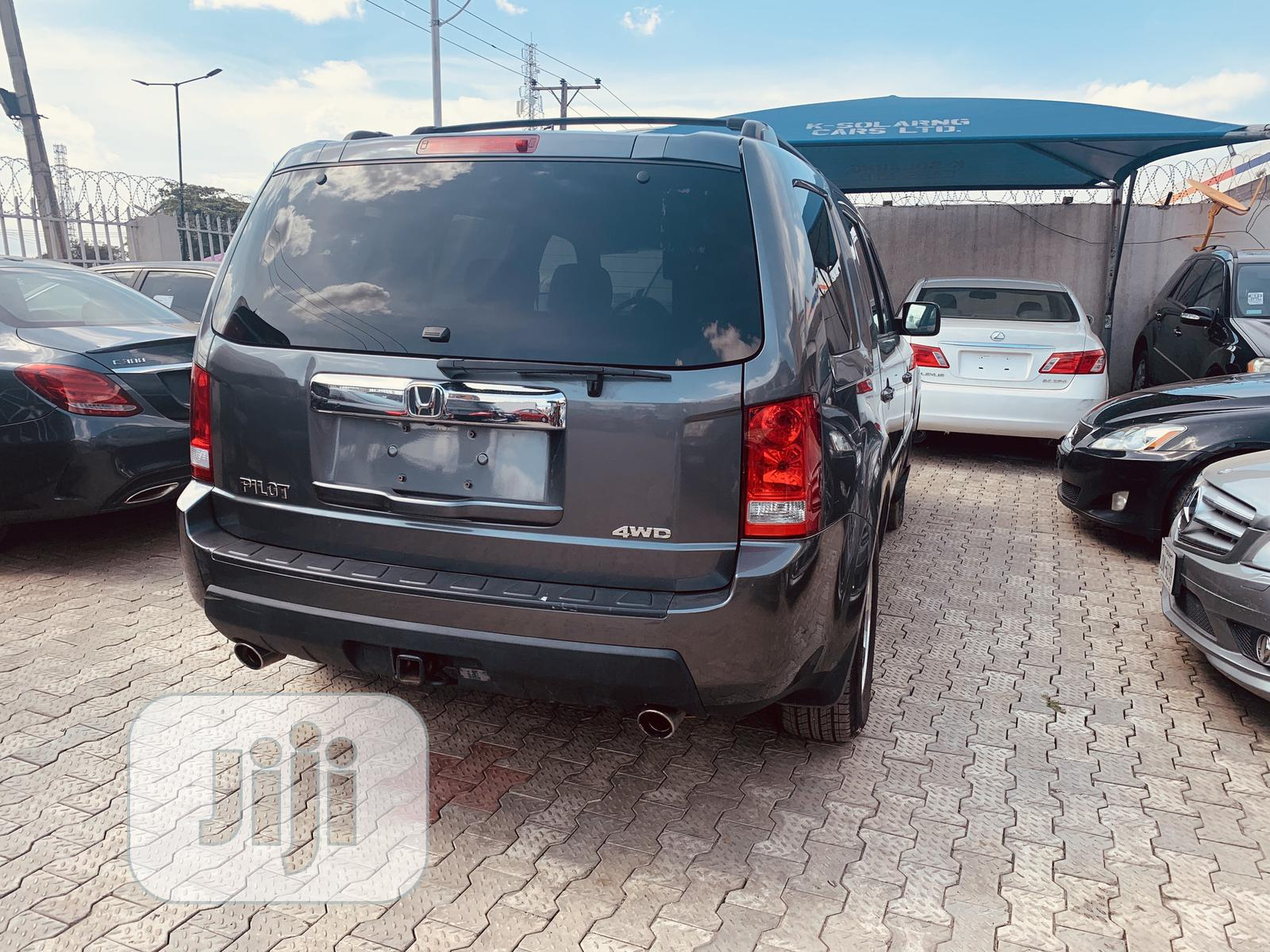 Honda Pilot 2012 Gray | Cars for sale in Lekki, Lagos State, Nigeria