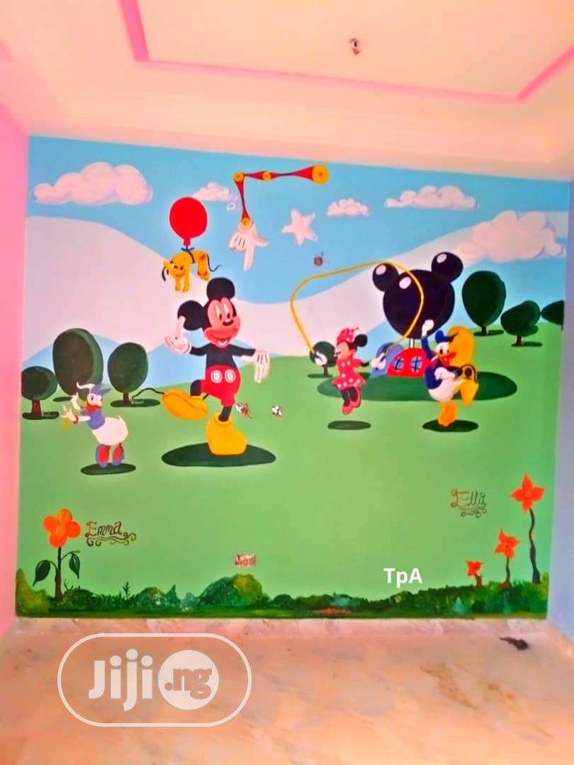 Wall Art Painting | Building & Trades Services for sale in Lugbe District, Abuja (FCT) State, Nigeria