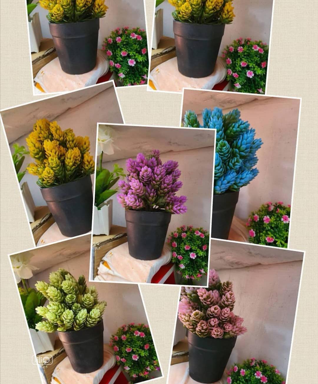 Home Decor Artificial Flower Vase